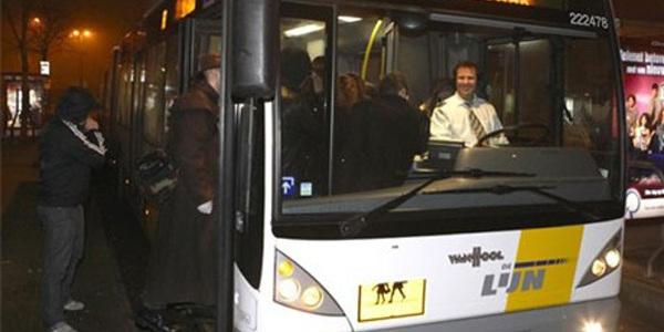 De feestbus van De Lijn