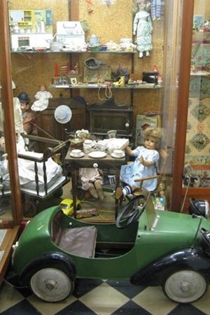 Speelgoed tentoonstelling
