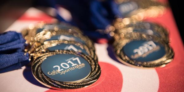 Medaille Gala van de Sporttrofee 2017