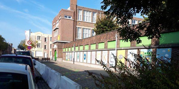 Parkeervakken voor basisschool Het Baronneke