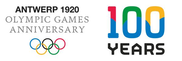 het label voor het olympisch jubileumjaar 2020
