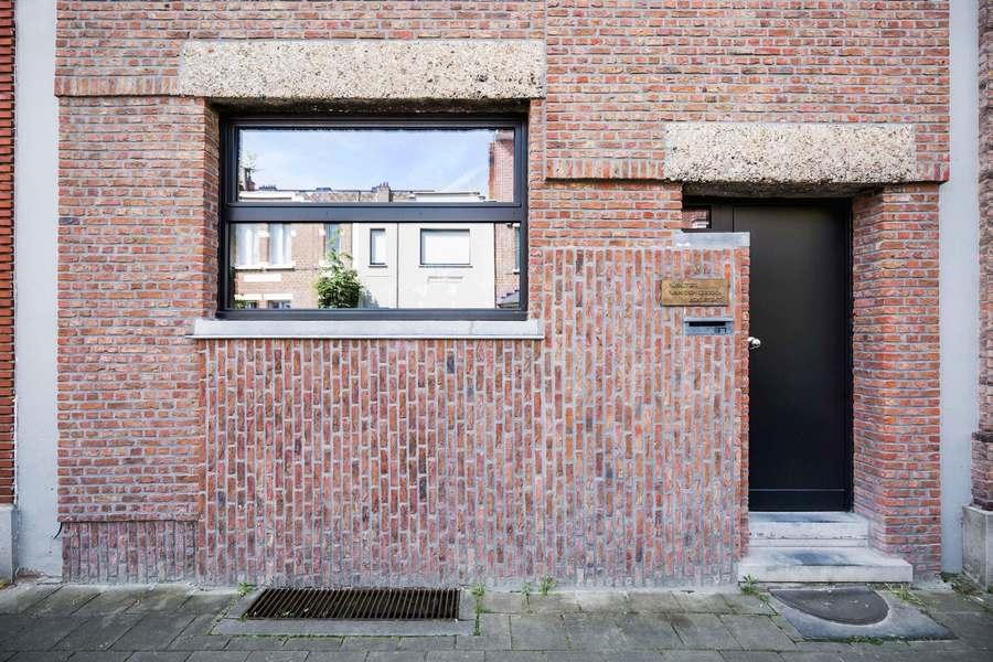 Architectenwoning Walter Van den Broeck - voorgevel