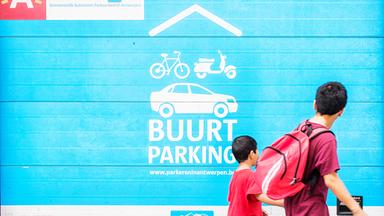 Nieuwe buurtparking Frankrijklei