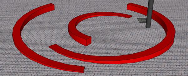 3D afbeelding bank