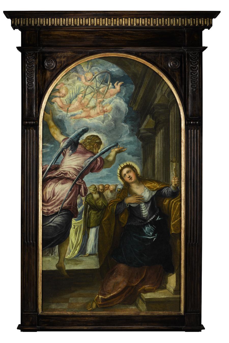 De Heilige Catharine van Jacopo Tintoretto is vanaf de lente van 2017 in het Rubenshuis te zien.
