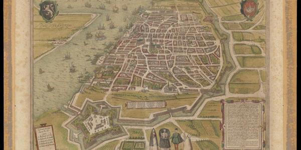 UA - Bijzondere Collecties: Anverpia, uit F. Hogenberg's Civitates orbis terrarum, na 1571