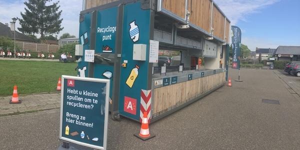 het Antwerpse recyclagepunt