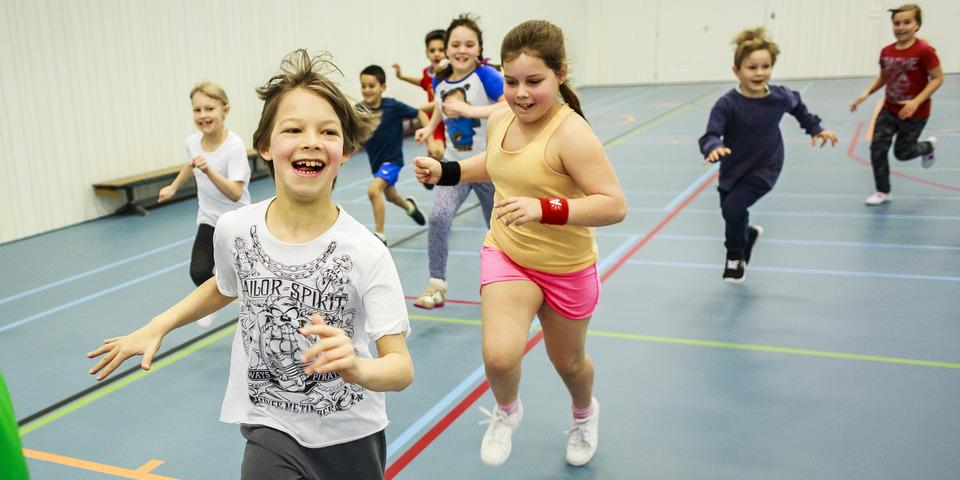 Plezier bij de deelnemers van de Antwerpse Sportweken