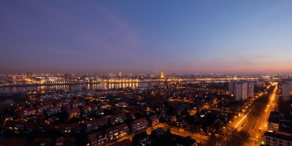 skyline stad Antwerpen