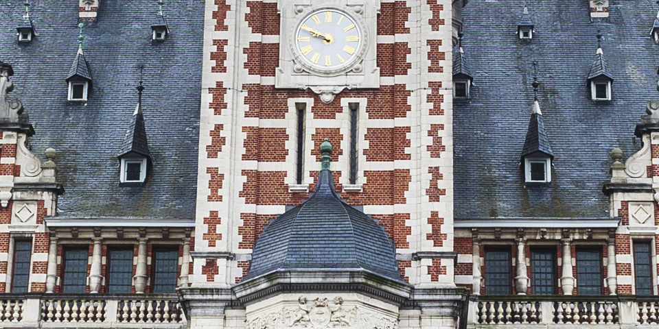 Dak districtshuis Borgerhout