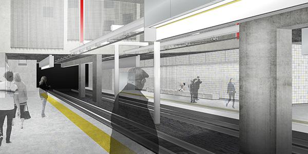 simulatie metrostation