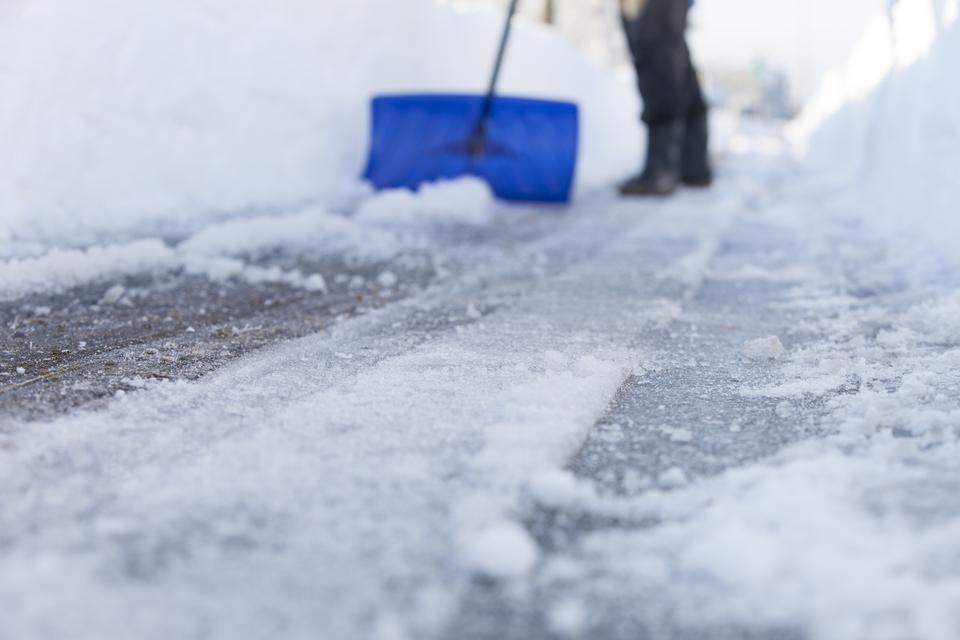 Sneeuw ruimen