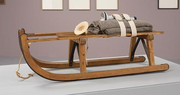 Joseph Beuys, Sled, 1969, Courtesy Hall Collection