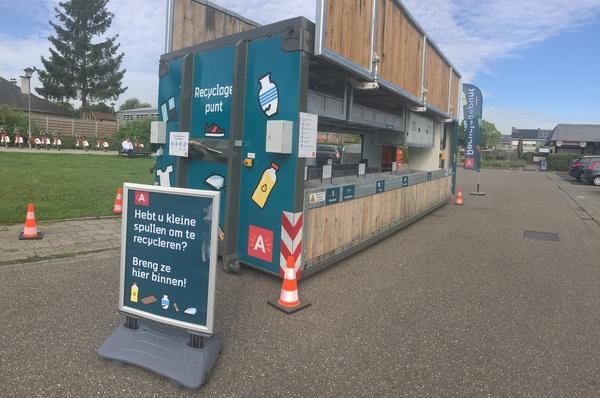Het reizend recyclagepunt