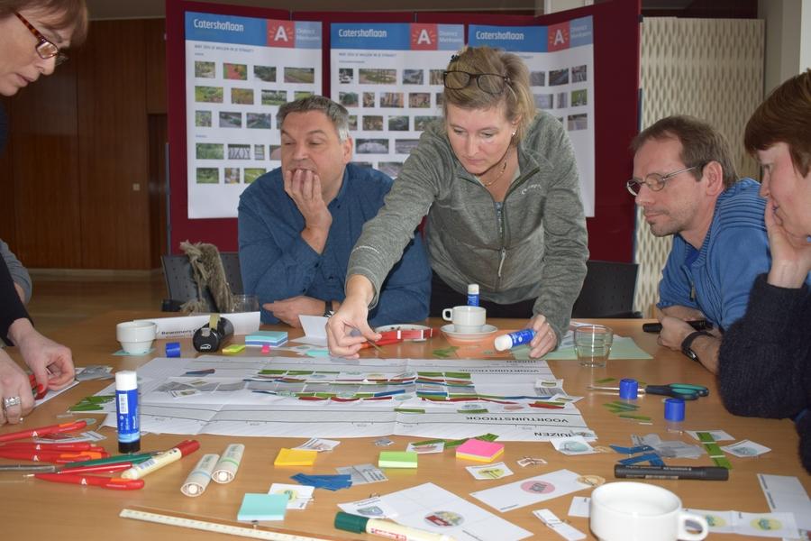 Workshop 25 januari - ontwerpen van de straat