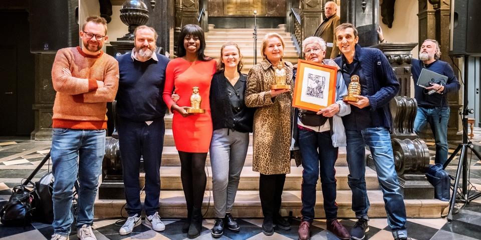 Winnaars cultuurprijzen 2018