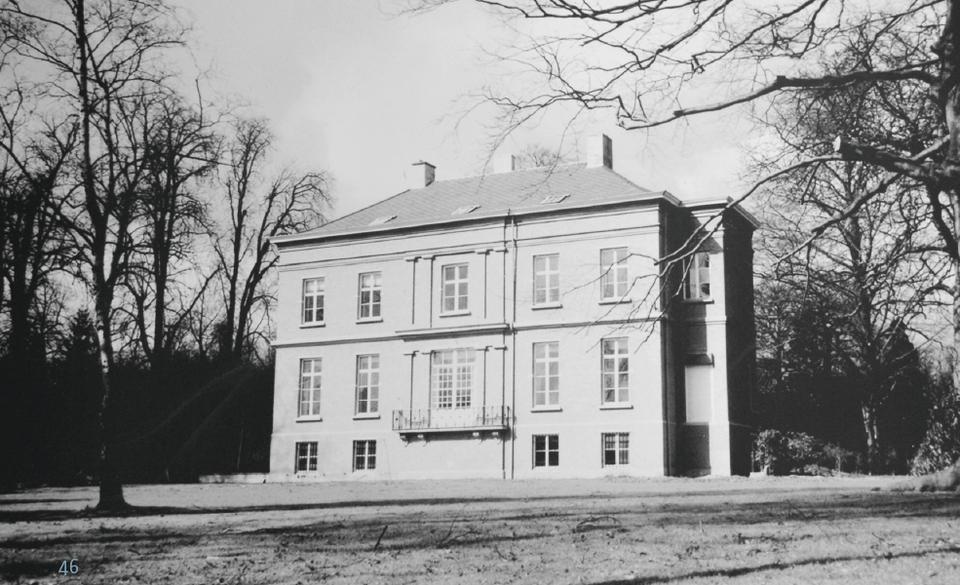 Hof van Moretus, nu Antwerp International School