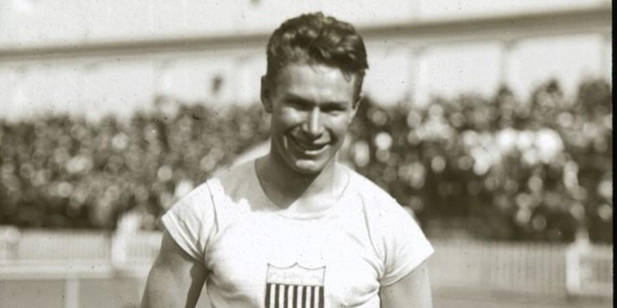 Amerikaanse atleet Charlie Paddock
