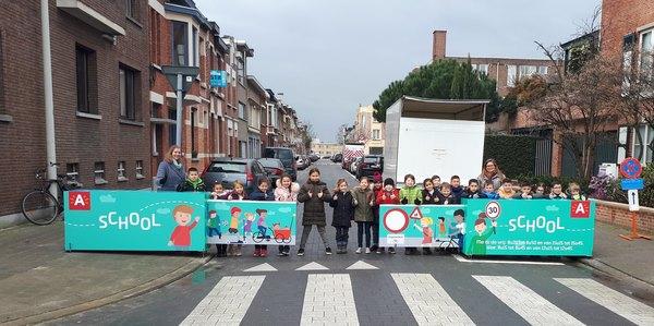 Baron Leroystraat is een schoolstraat