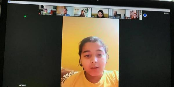 Het Junior Team bespreekt digitaal de publieke ruimte