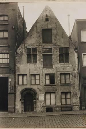 Historische foto van het Brouwershuis.