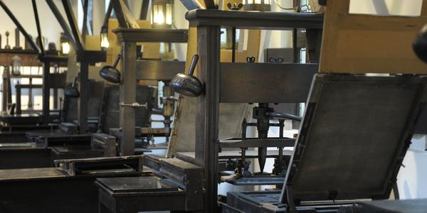 Museum Plantin-Moretus: onder meer de drukkerij is Unesco Werelderfgoed, foto Joris Luyten