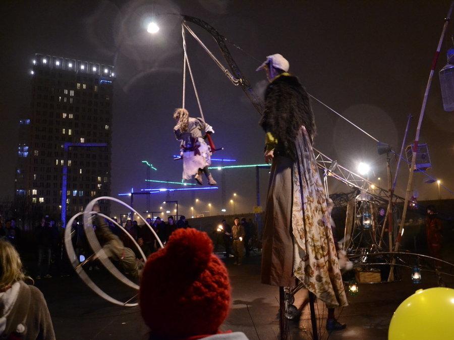 Parade en winterfeest