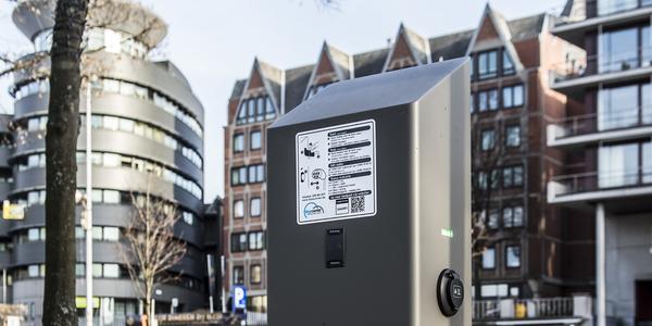 Mobiliteit en Parkeren Antwerpen - elektrische laadpaal