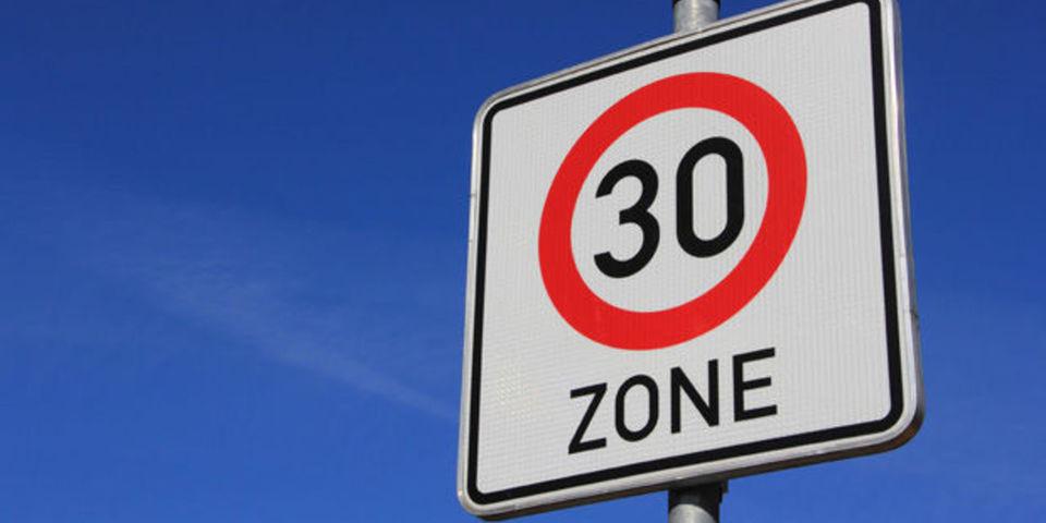 Bord zone 30