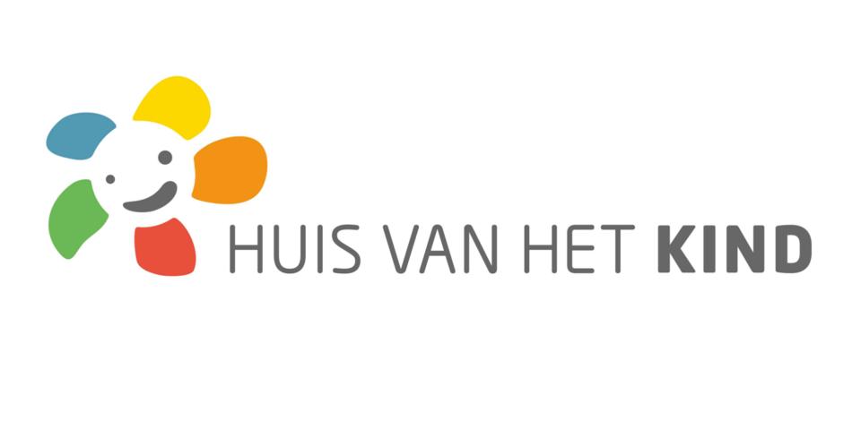 Het logo van de Huizen van het Kind