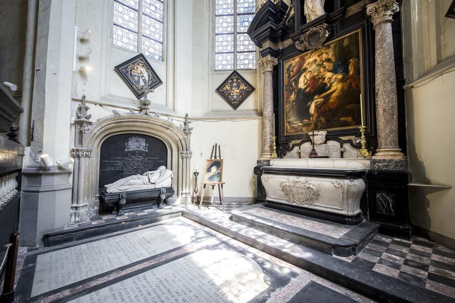 Rubenscrypte in Sint-Jacobskerk