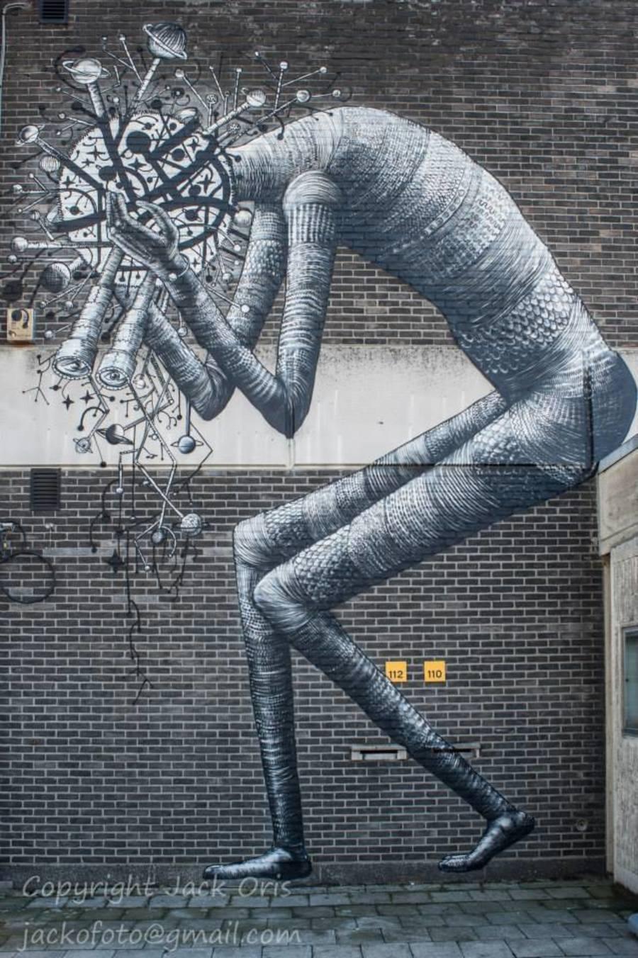 Street art Luchtbal