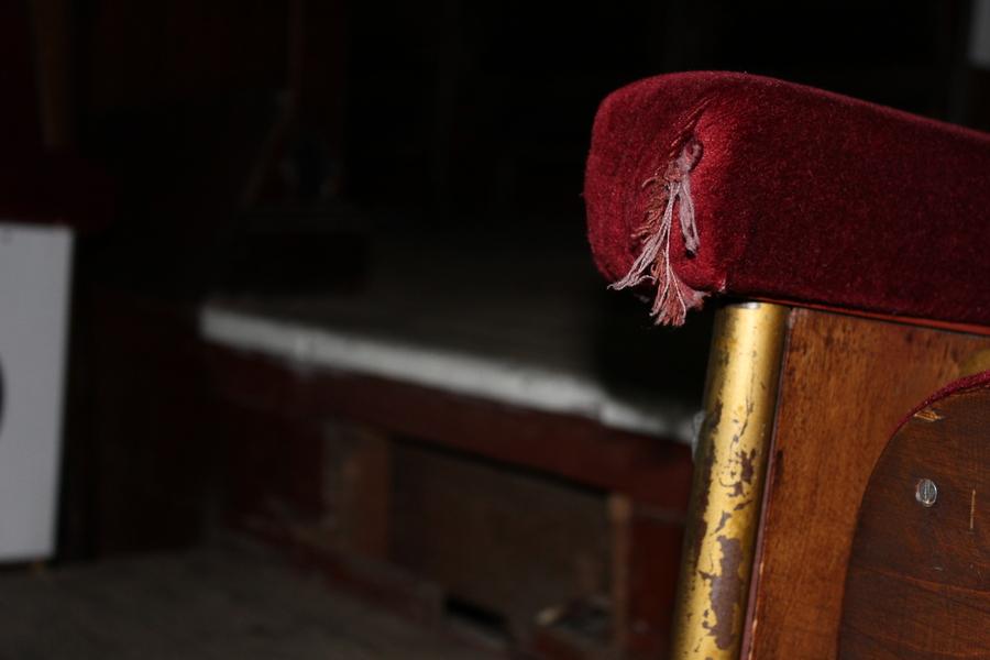 Detail stoel.