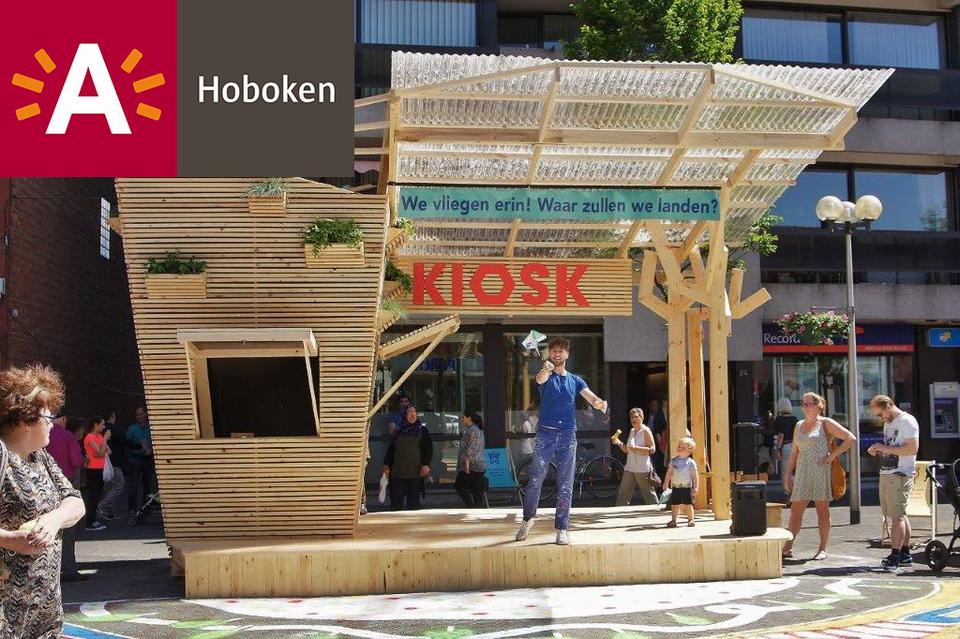 De symbolische Kiosk op de Kioskplaats