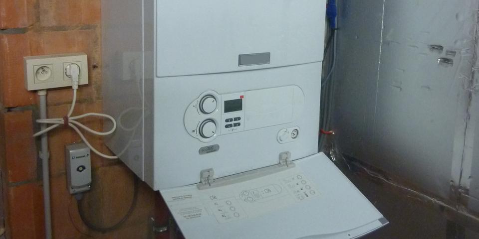 een condensatieketel als verwarmingsbron