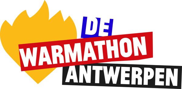 Logo 'de Warmathon Antwerpen'