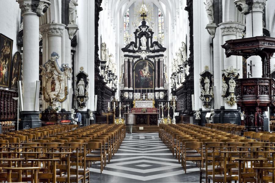 Interieur Sint-Pauluskerk