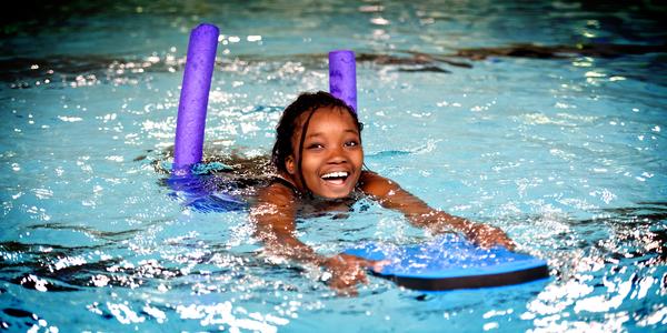Zwemmen tijdens de paasvakantie