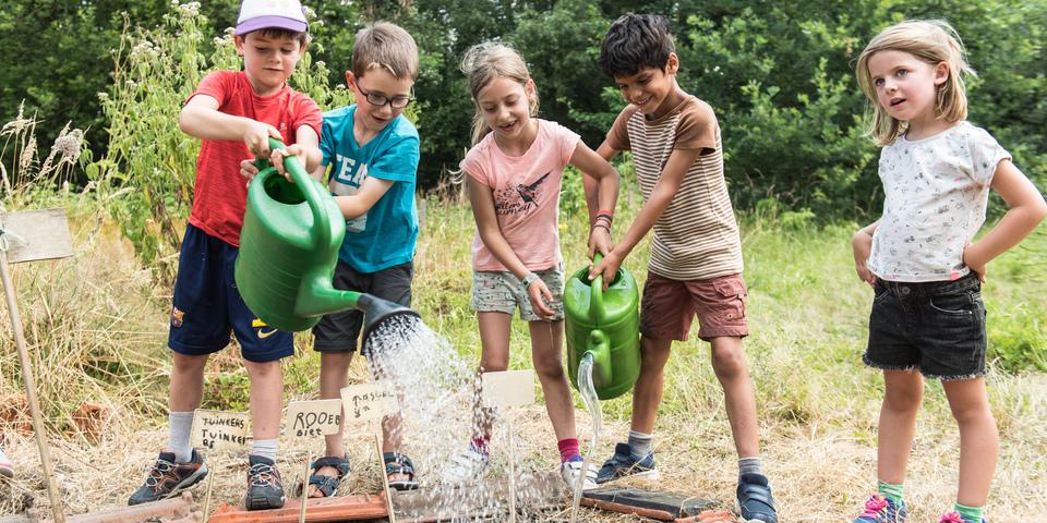 moestuinieren kinderen samentuin silsburg